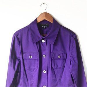 Jones New York Purple Blazer